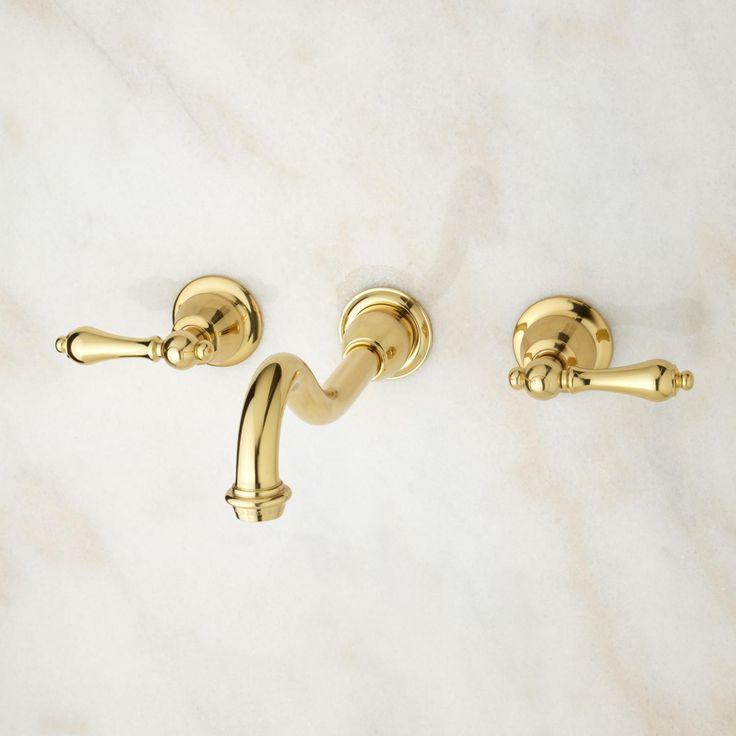 Photos On Ballantine Wall Mount Bathroom Faucet Lever Handles
