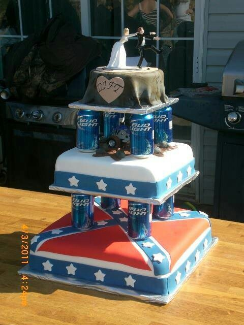 Please, God....i need me a good 'ol country boy so we can have a wedding cake like this!