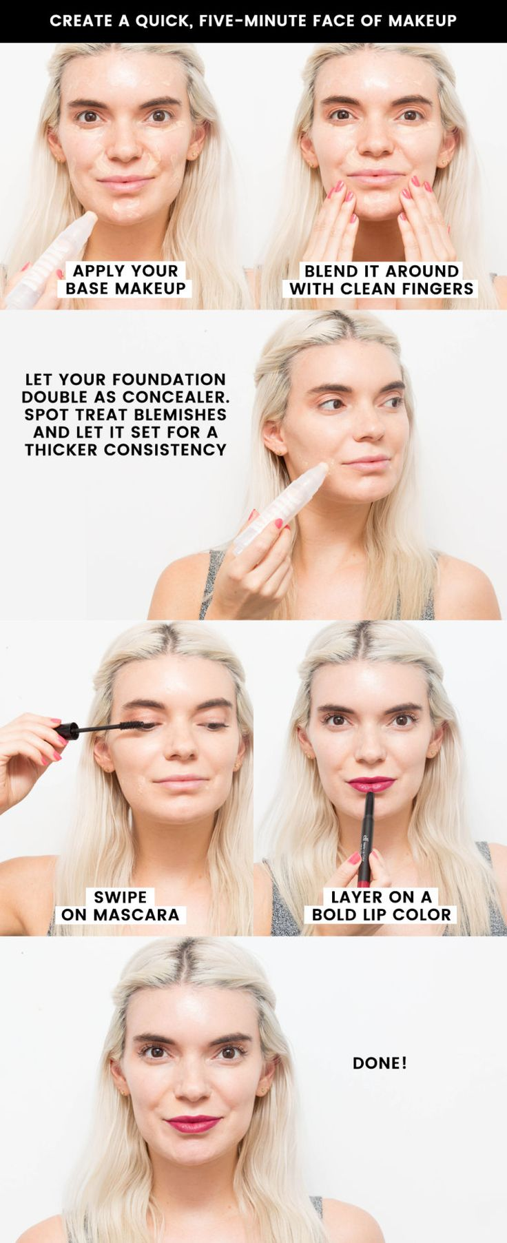 22 quick, time-saving beauty tricks you should know: