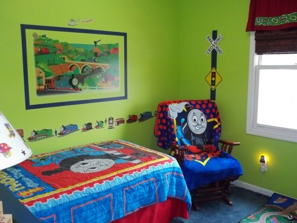 Thomas the Train Room. 17 Best images about Thomas the Train room on Pinterest   Toddler
