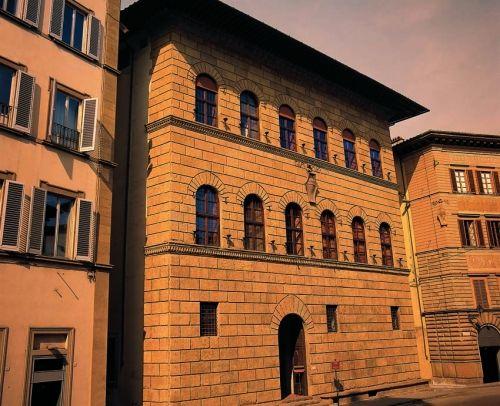 Palazzo Antinori, Florence, Italy; built between 1461-1469; attributed to Giuliano da Maiano.