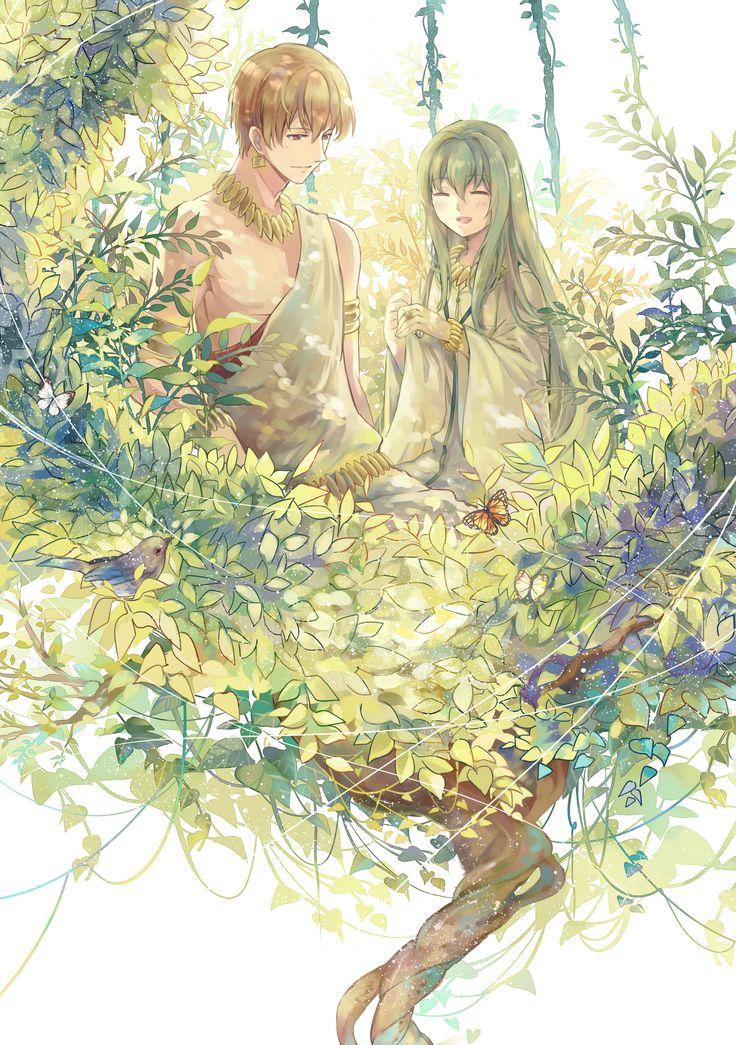 Enkidu and gilgamesh