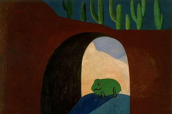 O Sapo (1928), de Tarsila do Amaral