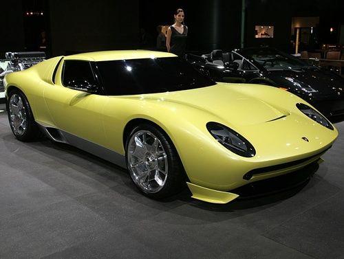 2006 Lamborghini Miura Concept: Gallery, Full History And Specifications