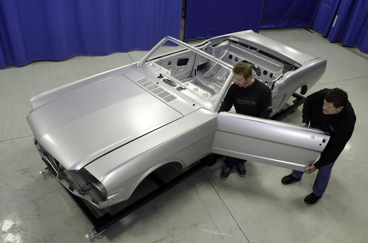 Ford–Approved Body Shell Allows You to Build a '64-'66 Mustang Convertible from the Ground Up