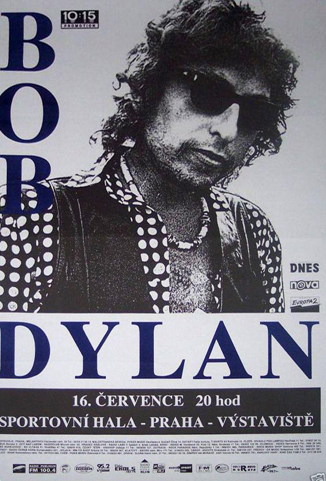 8 07 16 1994 Bob Dylan Concert Poster Bob Dylan