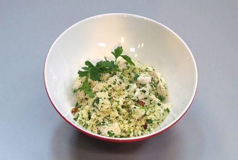 Суп с лососем, котлеты с тыквой и салат с кускусом - кулинарные рецепты, здоровые рецепты, кускус рецепты, видеорецепты онлайн :: JV.RU