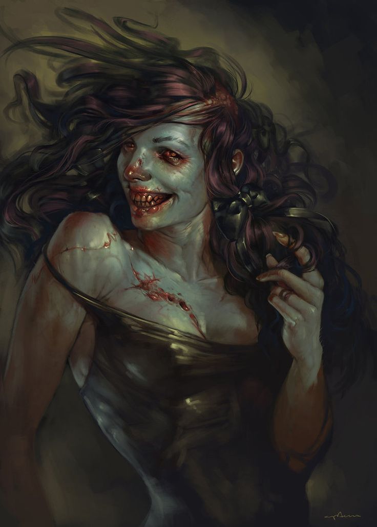 Ghoul Girl by apterus on DeviantArt. Orc vampire