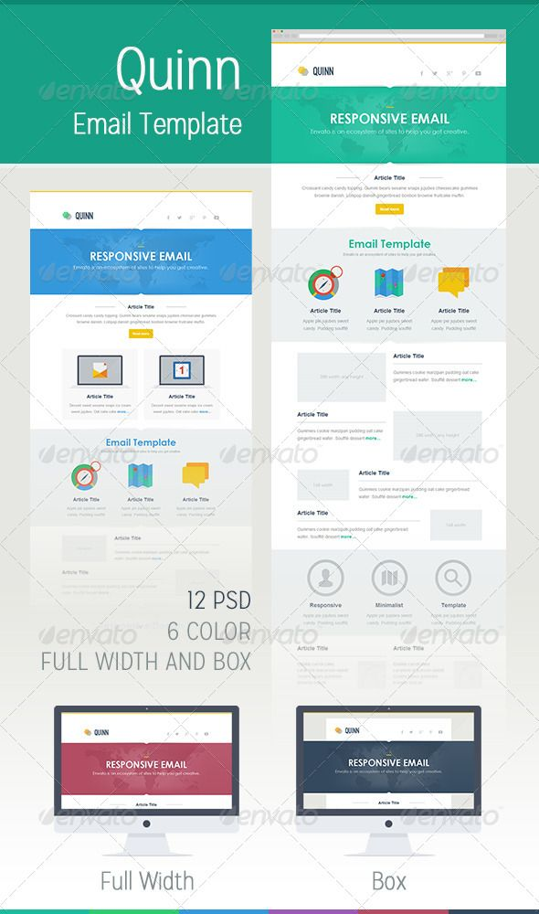 Best Email Marketing Template Images On Pinterest Email - Web design email marketing templates