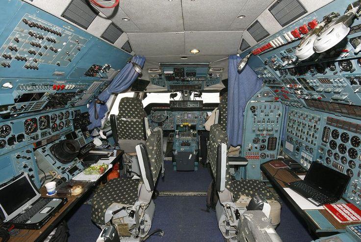 Antonov 225 Cockpit Flight Deck Aviation Aircraft