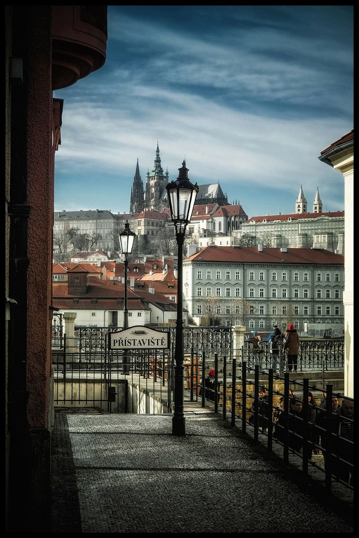 Prague views by Václav Verner | http://www.iconhotel.eu/en/contact/location