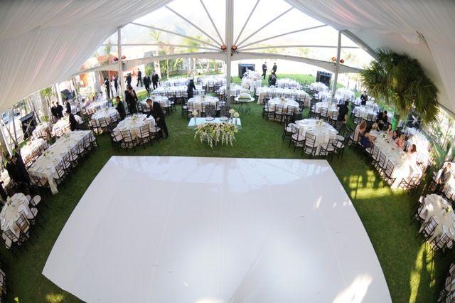 White dance floor - wedding http://www.creativetent.us/markets-served/large-events.html