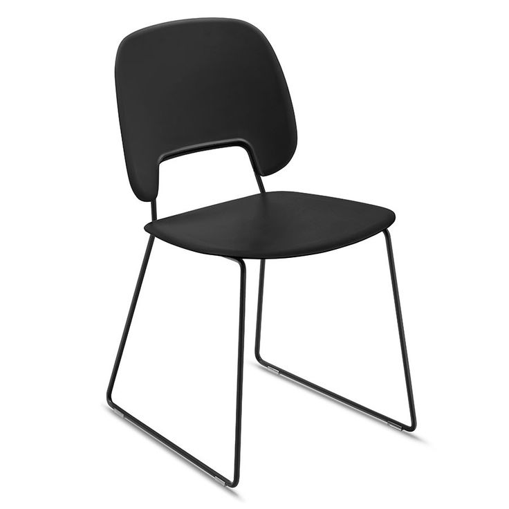 50+ Black Contemporary Dining Chairs - Modern European Furniture Check more at http://www.ezeebreathe.com/black-contemporary-dining-chairs/