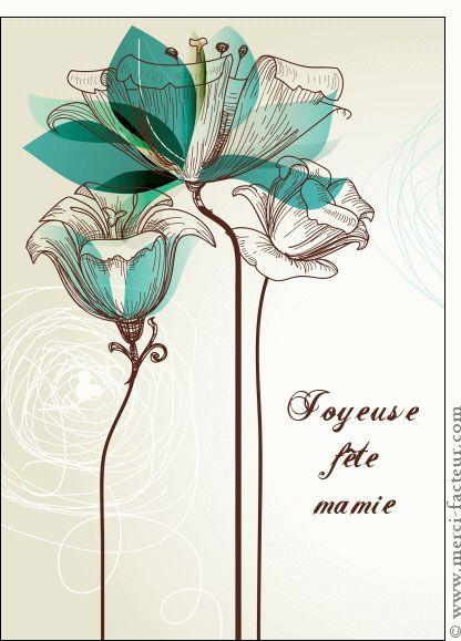 Carte Gravure joyeuse fête mamie pour envoyer par La Poste, sur Merci-Facteur ! Dimanche prochain, ce sera la fête des grand-mères. Découvrez notre jolie collection de cartes papier pour leur faire plaisir http://www.merci-facteur.com/…/rub22-fete-des-grand-meres.h… #carte #Fêtedesgrandsmères #fêteGrandMère #mamie #grandmère