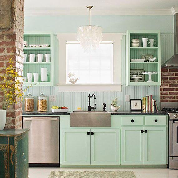 modern vintage kitchen - Google Search