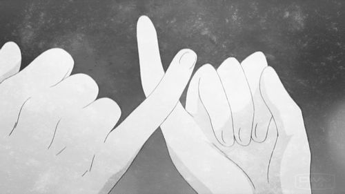 """Entonces… Sonreíste y dijiste: """"Es una promesa"""". Entrelacé mi dedo meñique con el tuyo y reí. Y aunque no lo dije, nuestro pensamiento fue el mismo: """"Siempre juntos""""."""