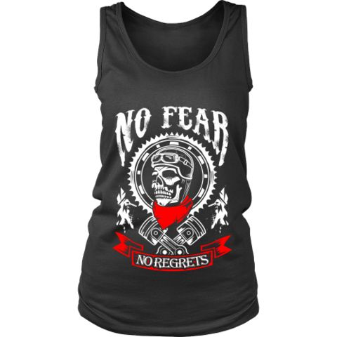 Motorcycle - 'No Fear' Women's Tank