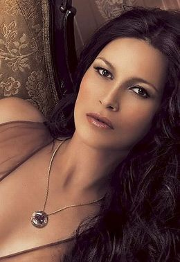 Actress and singer Karina Lombard is of Native American (Lakota), Swiss, Russian and Italian descent.