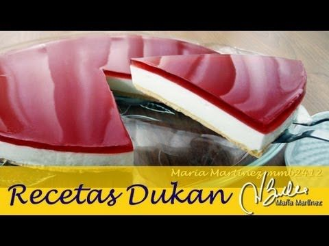 ▶ Adelgazar: Tarta de queso tipo Philadelphia (Dieta Dukan Crucero) / Philadelphia Diet Cheesecake - YouTube