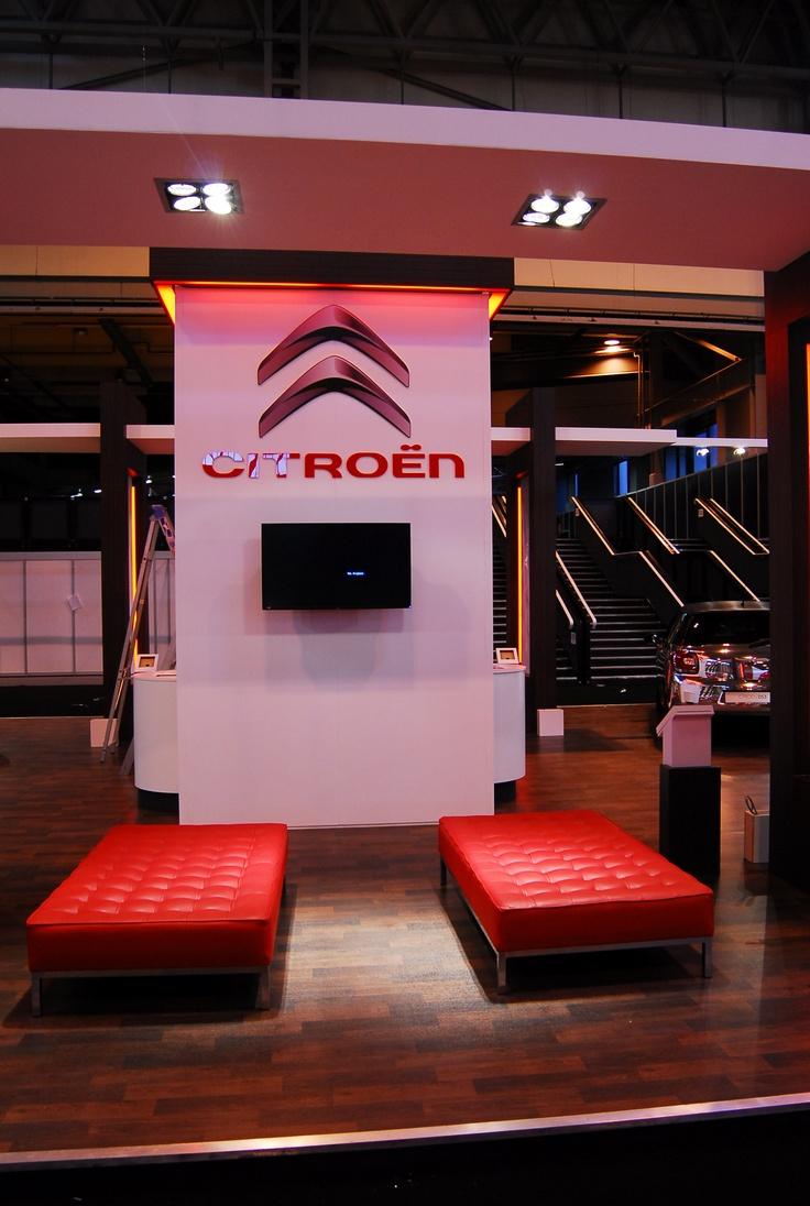 D Exhibition Stands : Citroen exhibition stand mph show