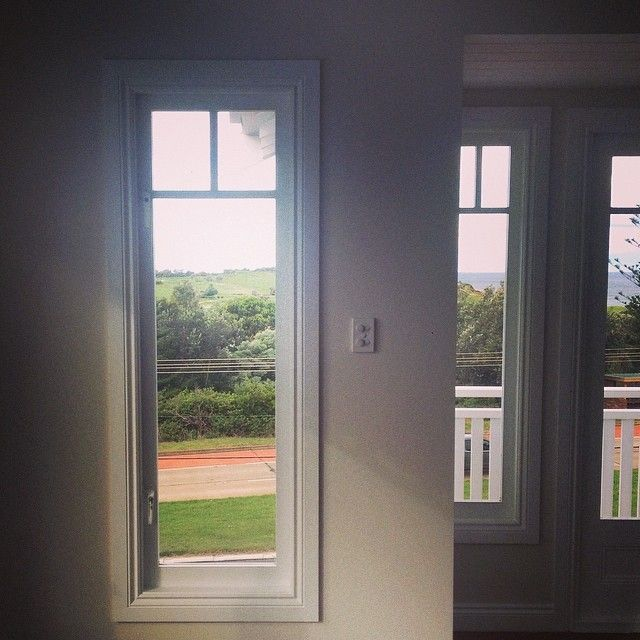 Site inspection at Collaroy #beachcottage - framed views of Longreef golf course and Beaches!