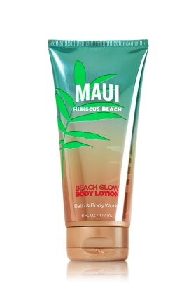 Maui Hibiscus Beach Beach Glow Body Lotion - Signature Collection - Bath & Body Works