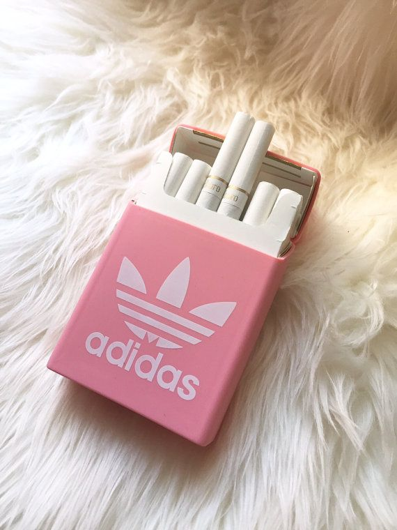 Rare PINK ADIDAS Silicon Cigarette Case / Cigarette by ...