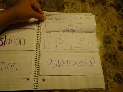 notebook vocabulary