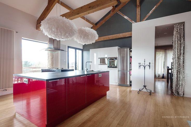 Bourgoin Jallieu : Rénovation Du0027architecte   Agence EA Grenoble | G R E N O  B L E | E S P A C E S | A T Y P I Q U E S | Pinterest