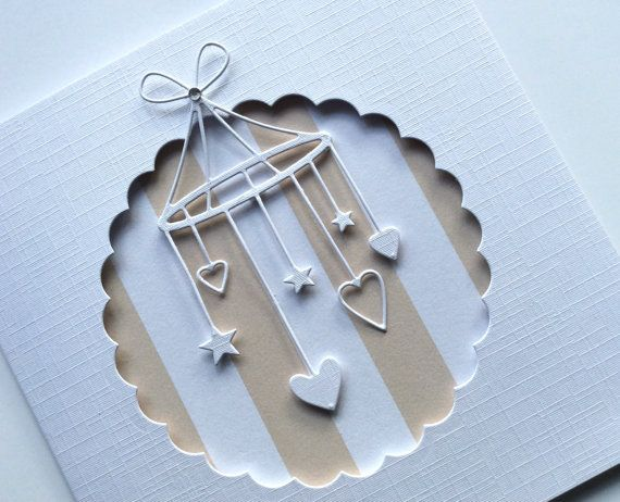 Pregnancy Congrats  New Baby Congrats Card Baby by BrindavanCrafts