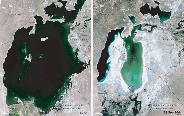 Ormai la partenza si avvicina, mancano solo 2 giorni!  Oggi voglio raccontarvi brevemente un altro motivo che mi spinge a tentare quest'impresa.  Tra Kazakistan ed Uzbekistan esiste un lago gigantesco che sta rapidamente sparendo: il lago d'Aral.  Trascorrerò diversi giorni tra i villaggi dei pescatori per documentare questo disastro ambientale e le nefaste conseguenze che esso comporta.  #Kazakistan #Kazakhstan #map #Aral #AralLake #AralSea #Aralsk #LagodAral #reportage #travel #trip…