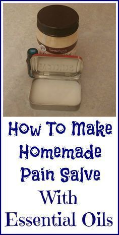 How to make your own sore muscle salve with essential oils.
