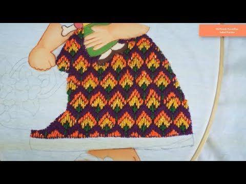 [Puntada Fantasía] Vestido - Niña Mexicana No. 1 | Un Mundo Maravillisa - YouTube