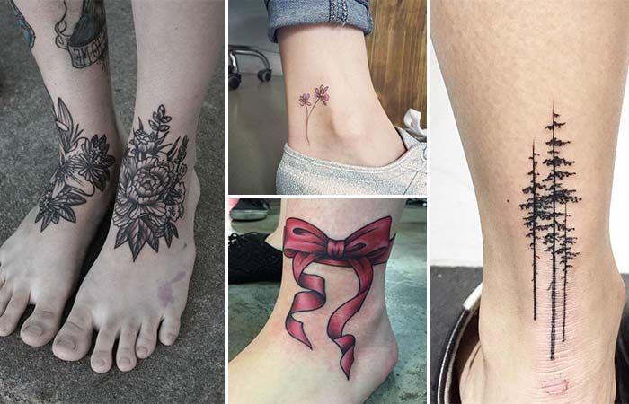 Kadınlara Özel Ayak Bileği Dövme Modelleri