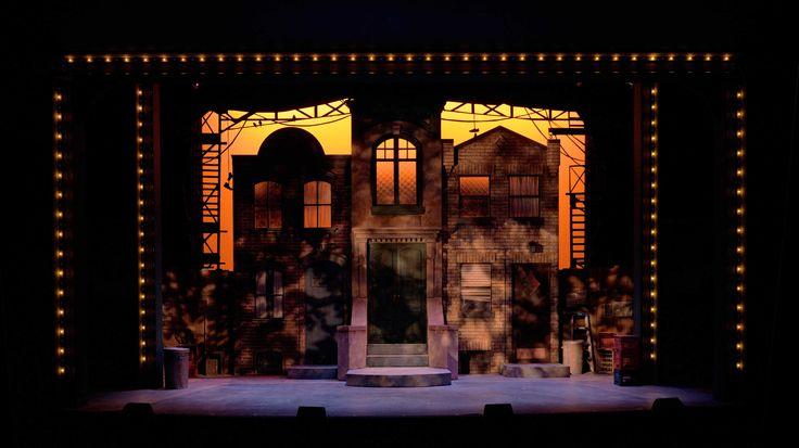 Avenue Q. Sudbury Theatre Centre. Scenic design by Scott Penner.