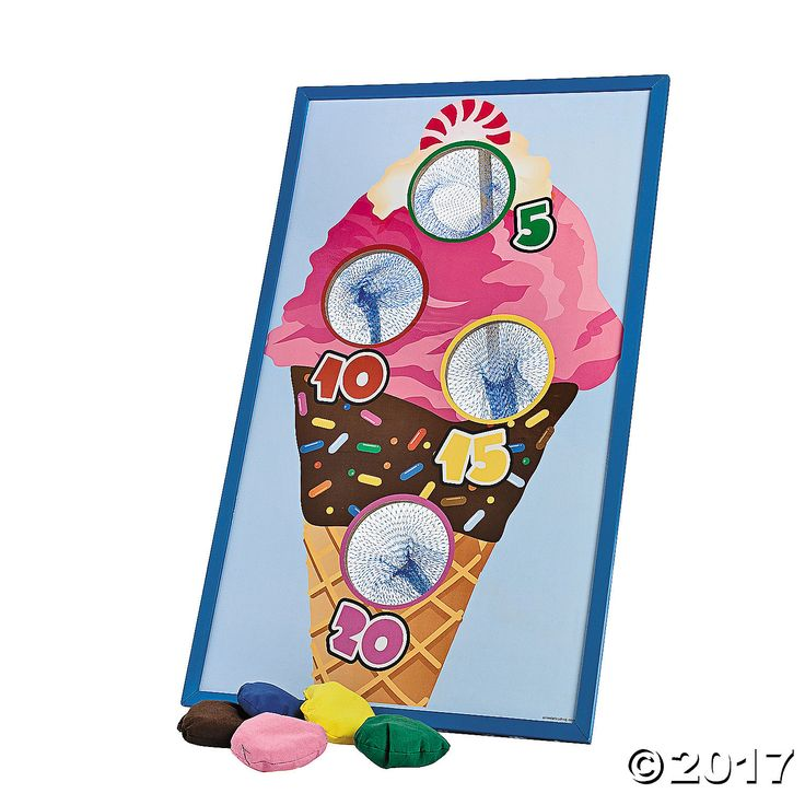 Ice Cream Bean Bag Toss Game - OrientalTrading.com