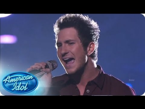 """Paul Jolley started the night off for the guys. Was his rendition of Keith Urban's """"Tonight, I Wanna Cry"""" enough to send him to the final round? #idol #americanidol #pauljolley"""