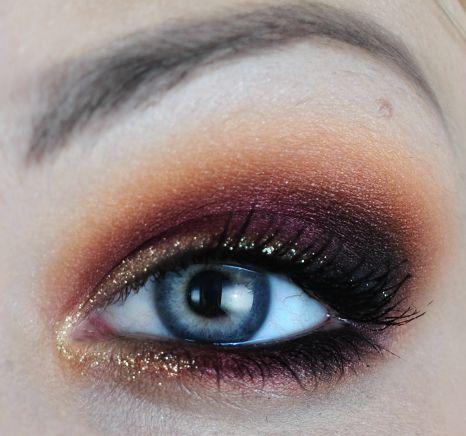 Burning Autumn by amy b on Makeup Geek eye #makeup look