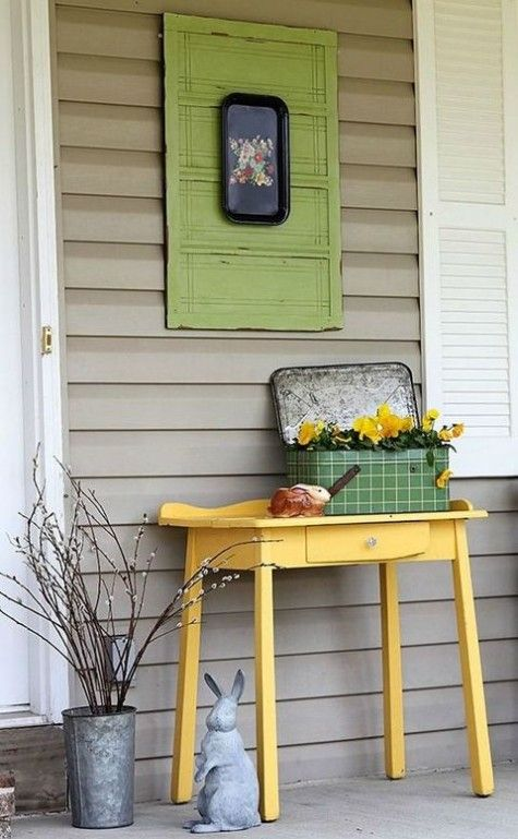 Ways To Decorate Your Porch For Spring | ComfyDwelling.com