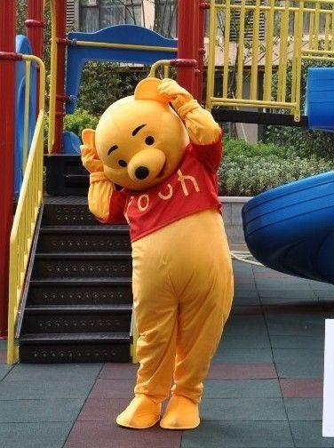 クマのプーさん着ぐるみ、ディズニーのくまのプーさんの着ぐるみ、ぷーさん きぐるみ http://www.mascotshows.jp/product/winnie-mascot-adult-costume2.html