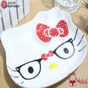 PIRING MAKAN HELLO KITTY KACAMATA http://grosirproductchina.co.id/piring-makan-hello-kitty-kacamata.html