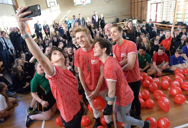 | THE VAMPS BRAD SIMPSON GOES BACK TO SCHOOL! (WATCH) | http://www.boybands.co.uk