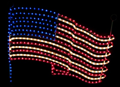 july 4th rope lights