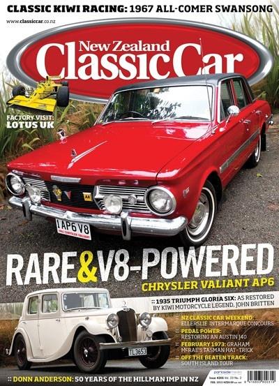 NZ Classic Car - February 2013