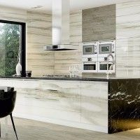 Calcutta Polished Glazed Porcelain Tile 200x1140mm