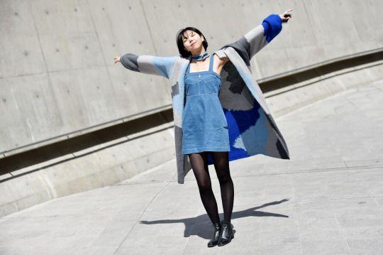 Women's Street Style by #Streetper  #fashion #fashionstyle #seoul #korea #womenswear #womensfashion #fall #fallstyle