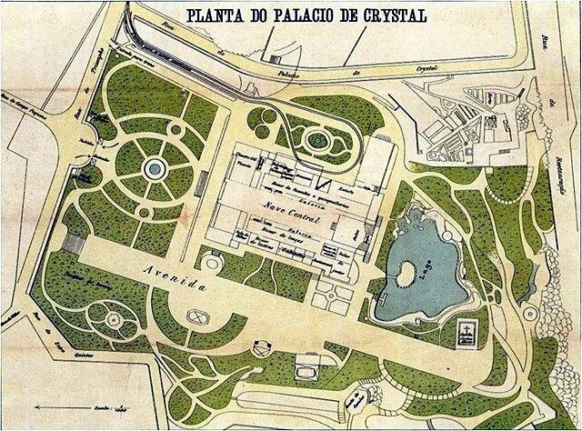 Planta Palácio De Cristal