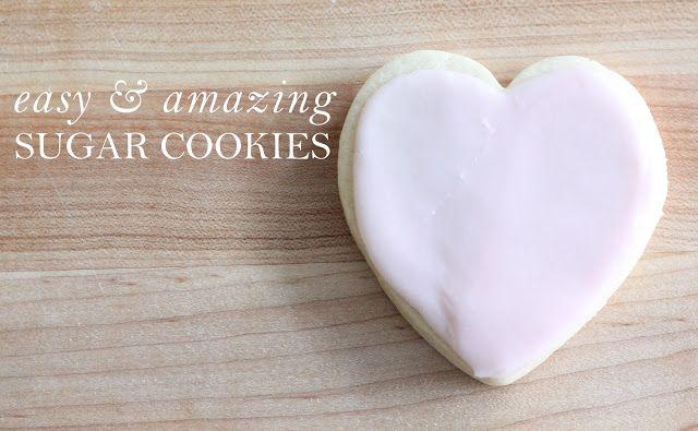 Easy & Amazing Sugar Cookies