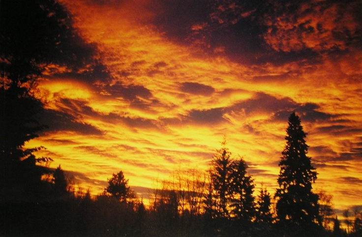 Sunset - Prince George, BC #Canadian