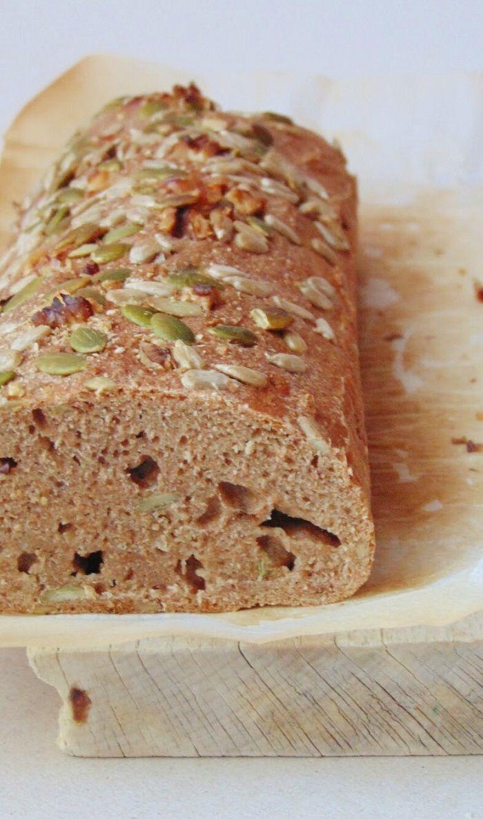 Como hacer pan con harina de espelta integral | receta vegana de pan de espelta integral